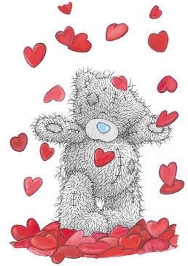 Мишка тедди любовь открытки